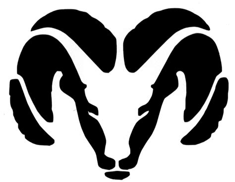 Ram Clipart Dodge Logo Clipart Clipart Suggest
