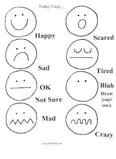 1000 about preschool emotions feelings on