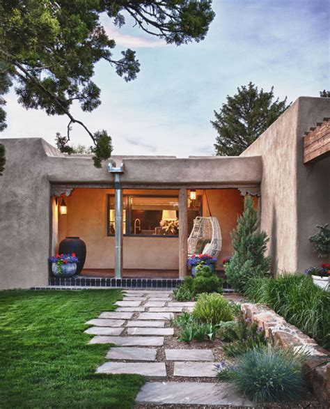 Fresh Traditional Style by Fresh Take On Traditional Mexican Style Santa Fe House