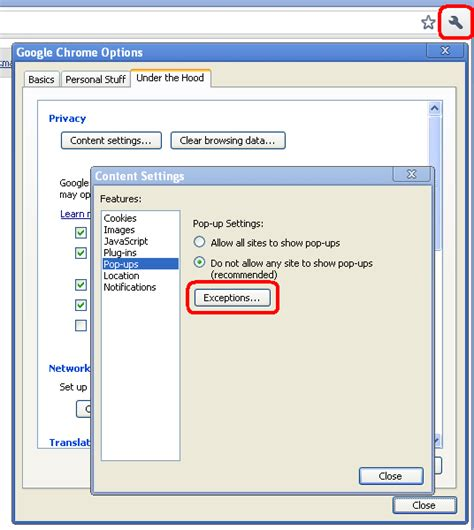 pop up blocker for android chrome how to allow activex in chrome website of