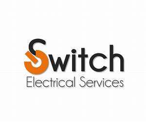 bold modern construction logo design for switch With electrical services