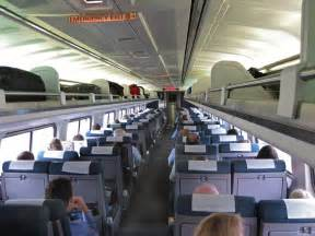 Inside Amtrak Train Cars