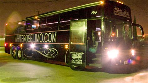 party bus prom homecoming party bus orange county