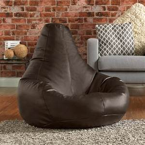 buy gaming bean bag chair in faux leather beanbag bazaar With bean bag sofas and chairs