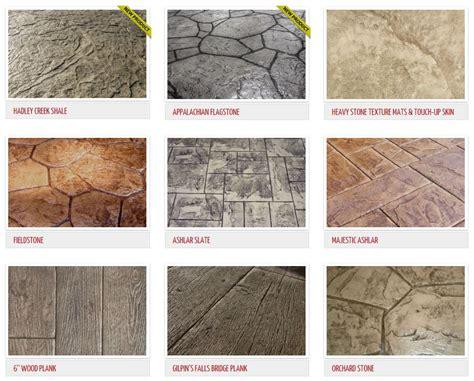 concrete color and design sted concrete patterns st exles