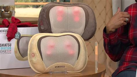 Poltrona Massaggio Shiatsu Homedics : Homedics 3d Shiatsu Massage Pillow With Heat With Leah