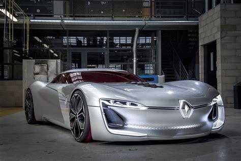 renault trezor concept car revealed  paris pictures