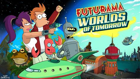 Futurama Brings Us the Worlds of Tomorrow, Launching Today ...