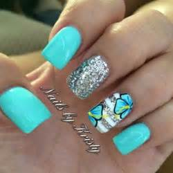 Nail art floral trendy nails love designs