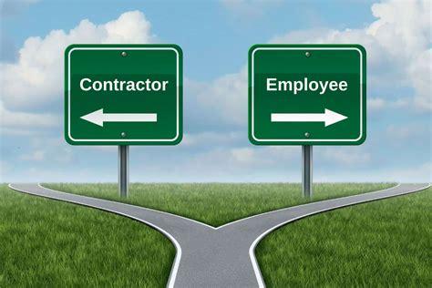 work  home employment employee  contractor