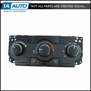 Oem A  C Heater Climate Control Unit For Dodge Charger