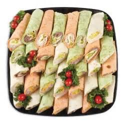 wrap delight sandwich platters individual trays