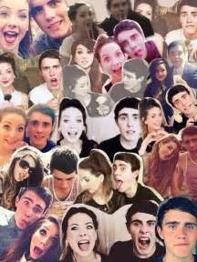 British YouTubers Collage