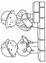 Builder Bob Coloring Clipart Printable Wendy Build Animated Birthday Cartoon Gifs Popular Clip Library Coloringhome sketch template