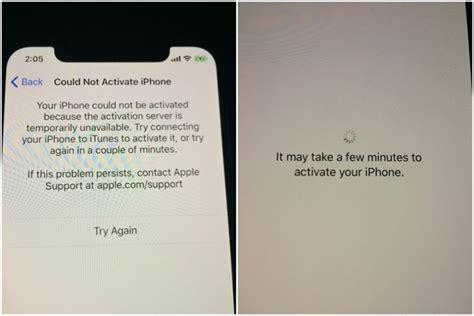 to activate iphone with verizon temporary iphone x activation problems occur as at t