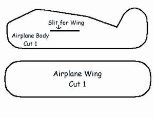 styrofoam airplane craft airplanes transportation and craft With cut out airplane template