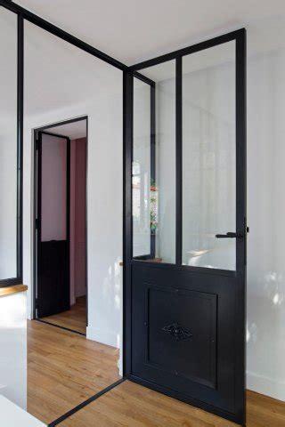 porte battant cuisine porte de style atelier d 39 artiste en acier battante ou à