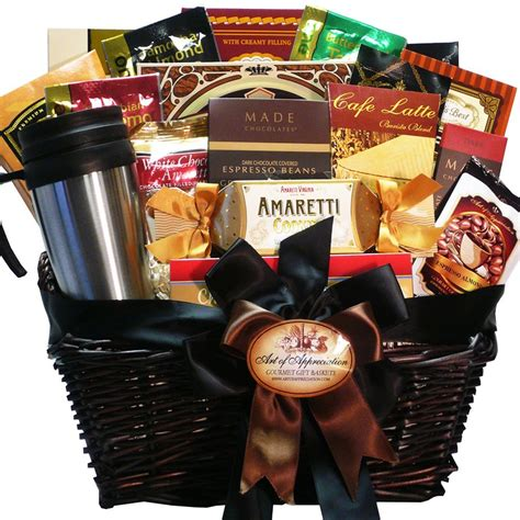 coffee and biscotti gift baskets