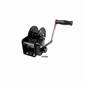 Manual Trailer Winch - With Brake