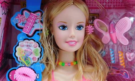 Doll Styling Head Play Set