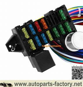 12 Circuit Hot Rod Universal Wiring Harness Muscle Car