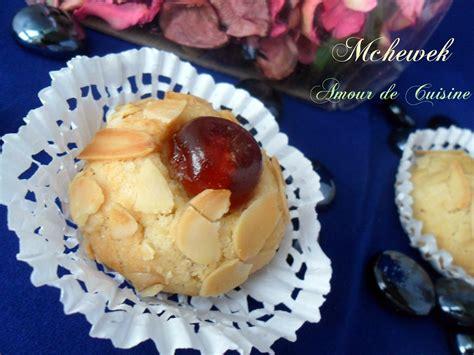 cuisine de gateau mchewek aux amandes gateau algerien amour de cuisine
