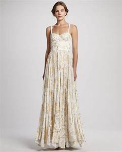 metallic wedding guest dresses gold cream alice and olivia With cream dresses for a wedding guest