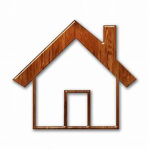 Simple Home Shape With Solid Roof Outline Icon #081552