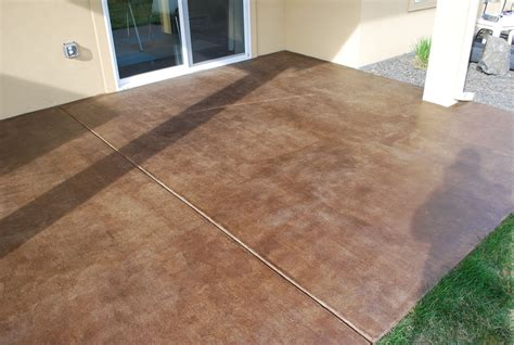 diy project how to stain a concrete patio concrete