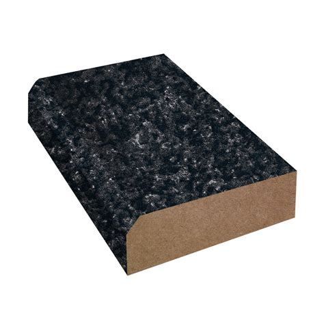 Bevel Edge Laminate Countertop Trim, Formica Blackstone 271