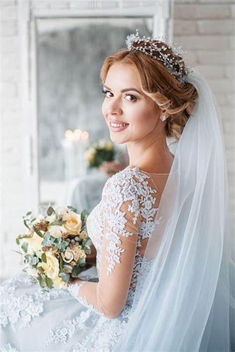 wedding hairstyles  veil  stylish zoo
