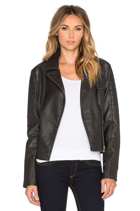 Light Jackets For Spring by Women S Faux Leather Jackets For Spring 2017 Become Chic