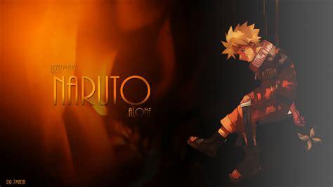Uzumaki Naruto Alone Wallpaer By Dr-7mada On Deviantart