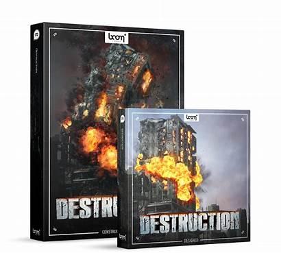 Effects Sound Destruction Library Boom Professional Masterpiece