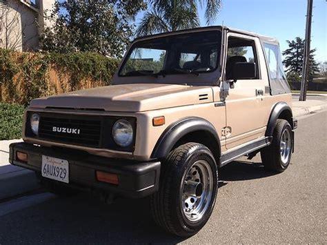 automobile air conditioning service 1993 suzuki samurai on board diagnostic system sell used 1988 suzuki samurai soft top air conditioning 4x4 in san bernardino california