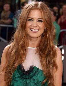 Isla Fisher hair color: Goldwell Topchic Natural Level: 7 ...