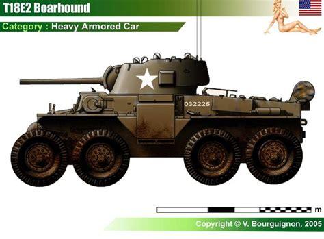 T18e2 Boarhound Armored Car