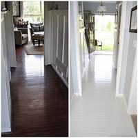 paint wood floors How to paint Prefinished hardwood floors