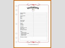 10+ free printable wedding planner organizer Lease Template