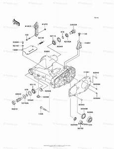 Kawasaki Atv 2008 Oem Parts Diagram For Swingarm