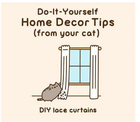 cheeky cat decor illustrations pusheen  cat