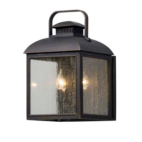 globe electric liam collection 1 light bronze outdoor wall