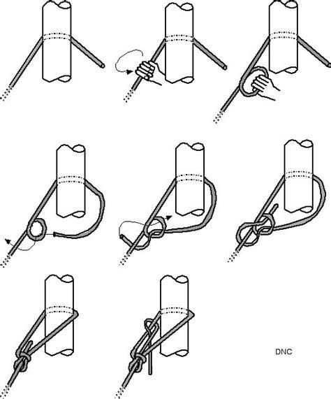 comment faire un noeud de chaise stage voile des cm2 école les enfants du marais st