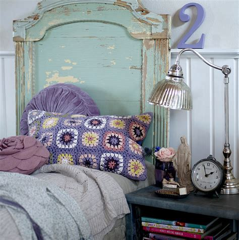 shabby chic purple bedroom color scheme aqua and purple eclectic living home