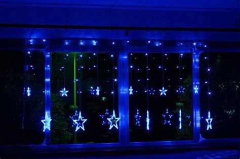 168 Led Star Lights Led Star Fairy Light For Indoor Outdoor Festival Christmas Xmas Decoration How Do You Put Curtain Rods Up Tropical Leaf Pattern Curtains Sheers In Nairobi To A Double Shower Rod Without Holes Pvc Strip Supplier Malaysia Hanging Wooden Beaded Door Spring Loaded Curved
