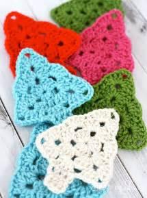 crochet decorated tree tree challenge skip to my lou