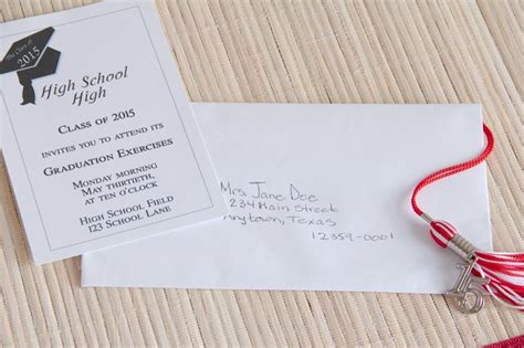 proper   address graduation invitations