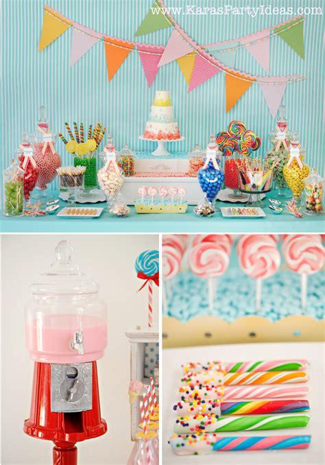 Kara's Party Ideas Sweet Shoppe Candy Party  Kara's Party