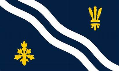 Oxfordshire Flag County Svg England Wikipedia Commons