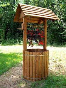 Wooden Wishing Well Plans